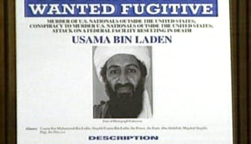 Zatykač na Usámu bin Ládina