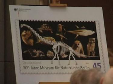 Známka vydaná k výročí muzea