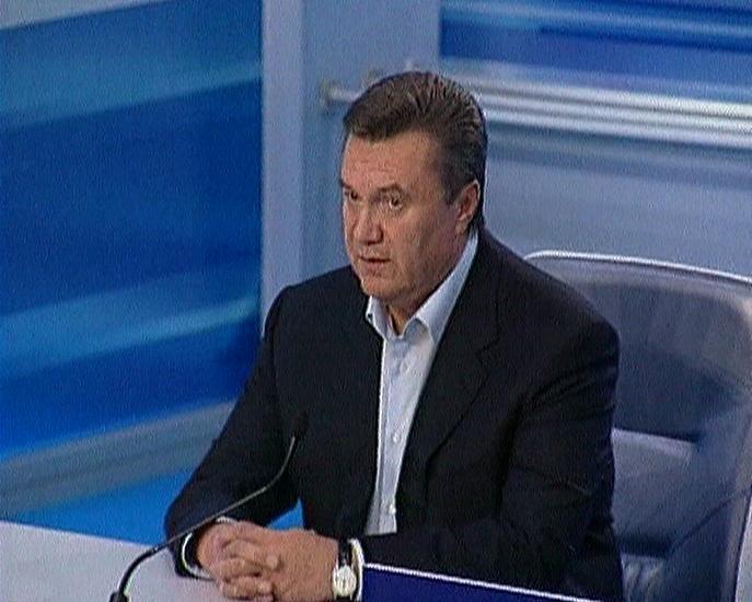 Lídr ukrajinské proruské opozice Viktor Janukovyč