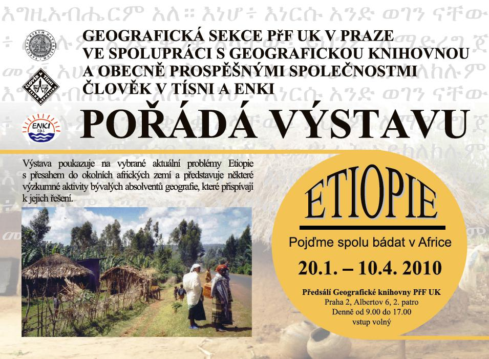 ETIOPIE – Pojďme spolu bádat v Africe
