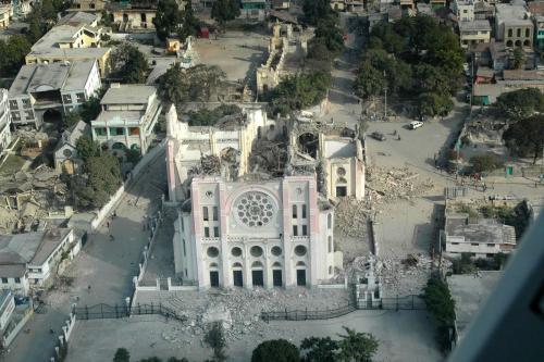 Katedrála v Port-au-Prince
