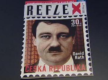 Nové číslo Reflexu s Davidem Rathem na obálce