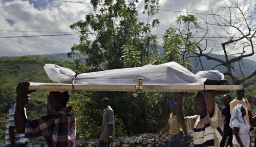 Haiti počítá mrtvé