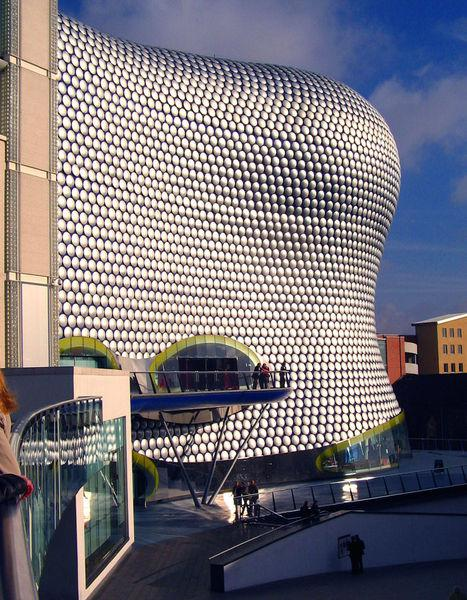 Selfridges building v Birminghamu