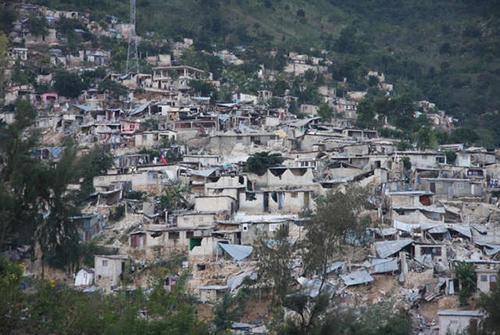 Zničený Port-au-Prince