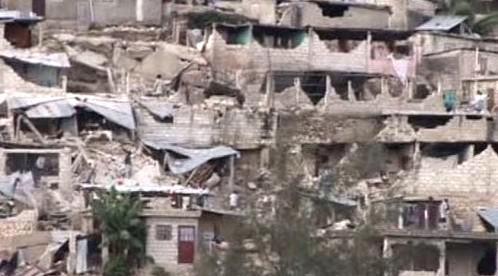 Zdevastované Haiti
