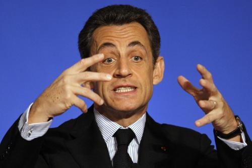 Nicolas Sarkozy pěstuje svou image