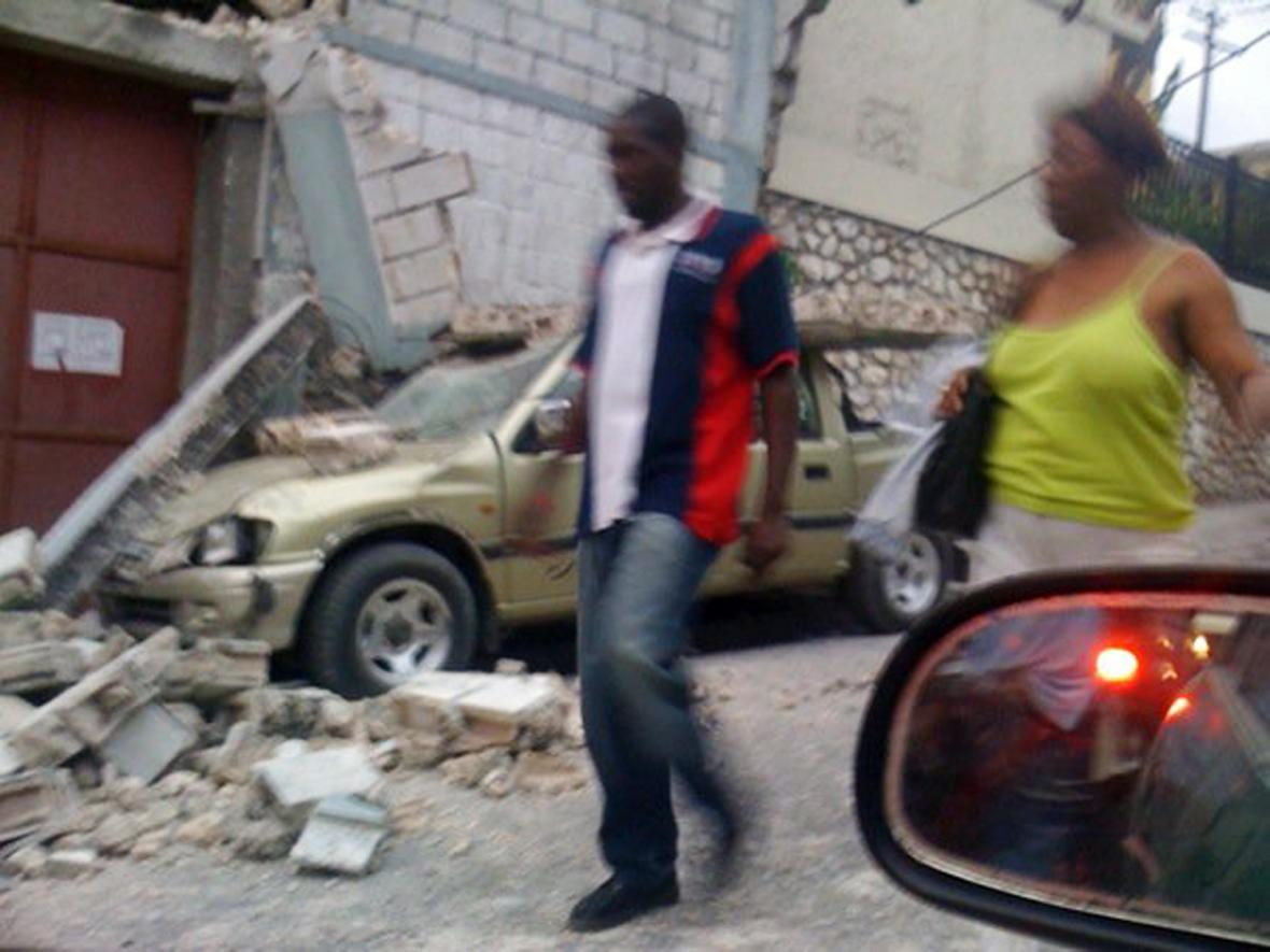 Zemětřesení v Haiti