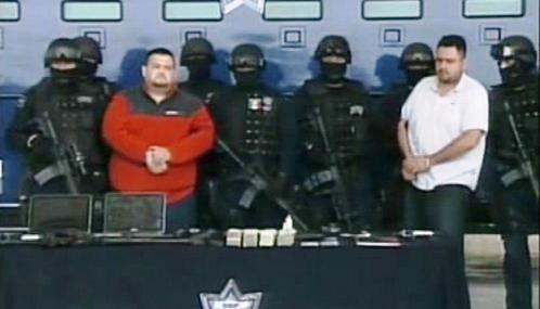 Zadržení mexičtí drogoví bossové