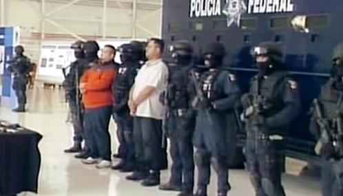Zadržení mexických drogových bossů