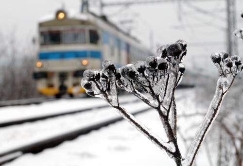 Sníh komplikuje situaci na železnici