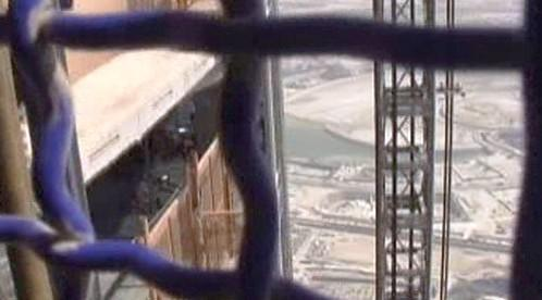 Stavební výtah na Burdž Chalífa