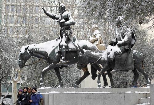 Španělsko pod sněhem
