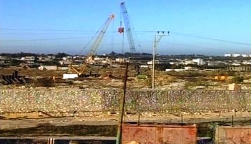Stavba zdi na izraelské hranici