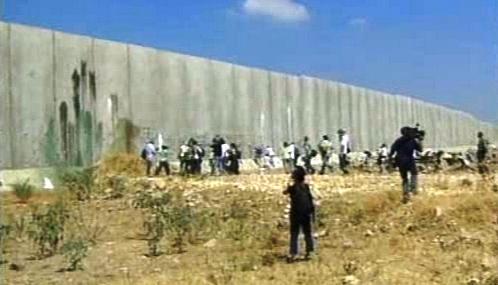 Izraelskou hranici chrání bariéra