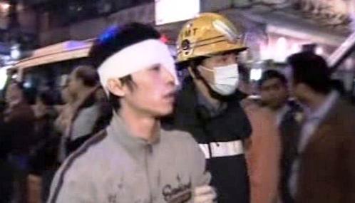 Oběť útoku kyselinou v Hongkongu