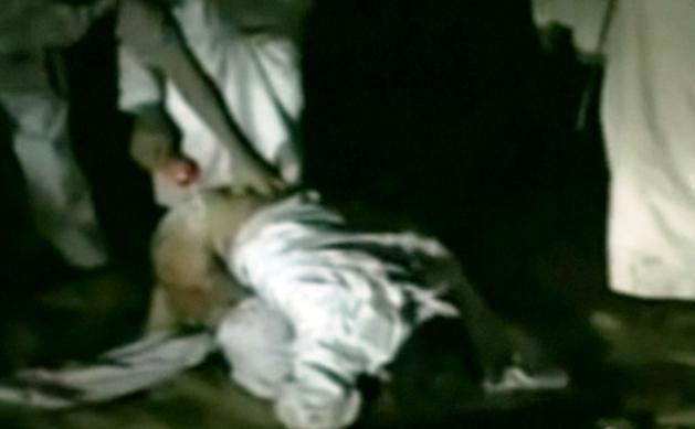Záběry mučení afghánského obchodníka