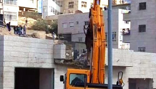 Izraelská výstavba na palestinských územích