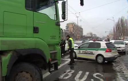 Blokáda Rožňavské ulice