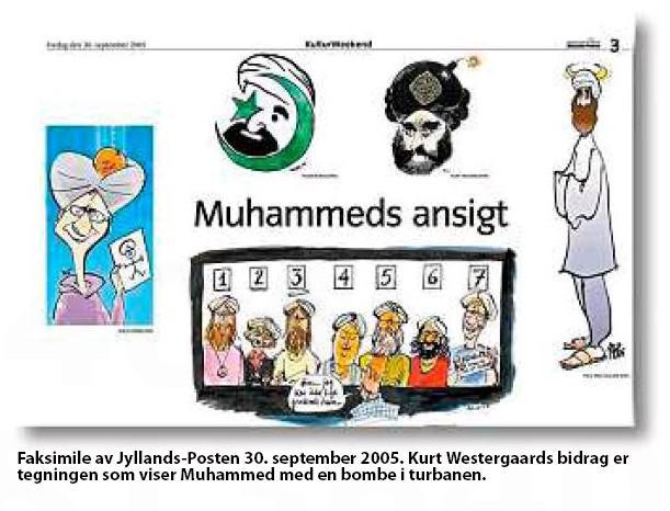 Karikatury proroka Mohameda