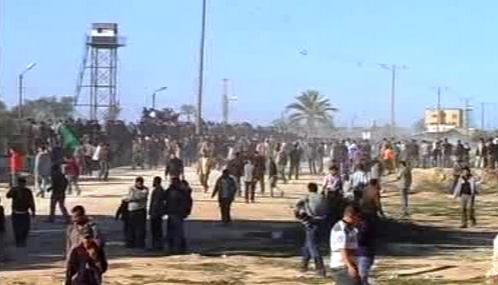 Nepokoje v Gaze