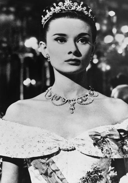 Audrey Hepburnová ve filmu Prázdniny v Římě