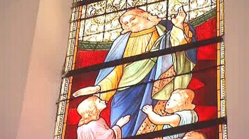 Kostelní vitráž