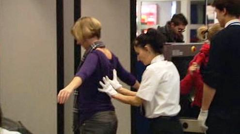 Kontroly na letišti