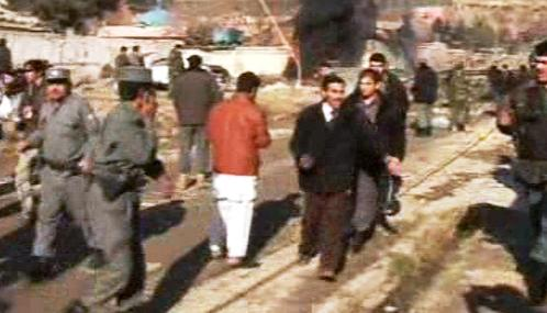 Teroristický útok v Afghánistánu