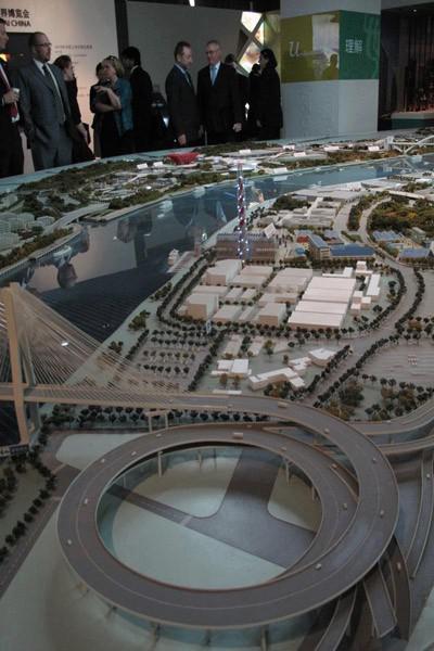 Model EXPO areálu