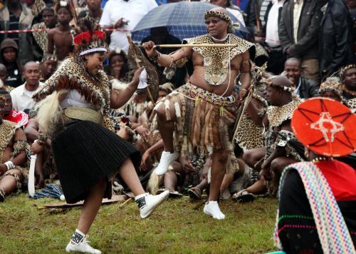 Svatba jihoafrického prezidenta Zumy