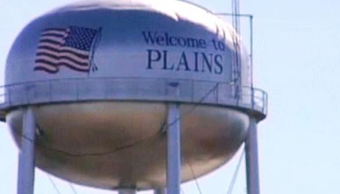 Americké městečko Plains