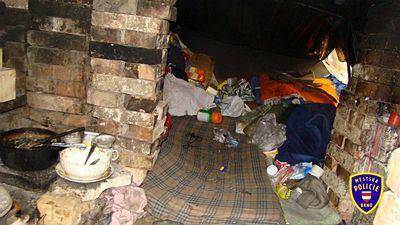 Příbytek brněnských bezdomovců
