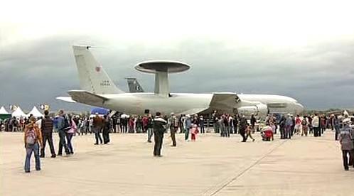 Boeing 707 se systémem AWACS