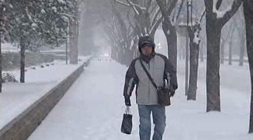 Sněžení a mráz ochromily Čínu