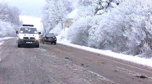 Rozježděný sníh