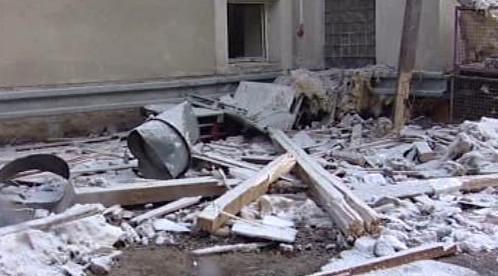 Výbuch v továrně v Rudníku