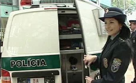 Slovenská policistka
