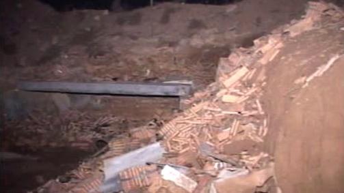 Výbuch v čínské továrně Sin-pching
