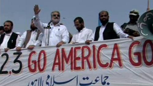 Protiamerické akce v Pákistánu