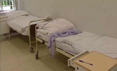 Zastaralé vybavení psychiatrické léčebny