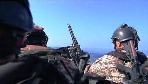 Protipirátská hlídka v Adenském zálivu