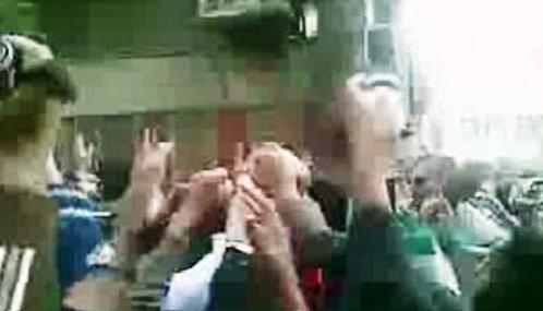 Demonstrace íránské opozice
