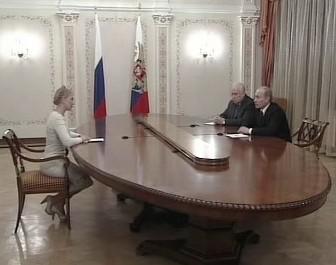 Tymošenková a Putin