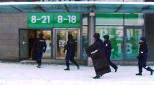 Útok v nákupním centru