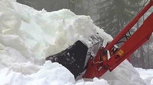 Navážení sněhu