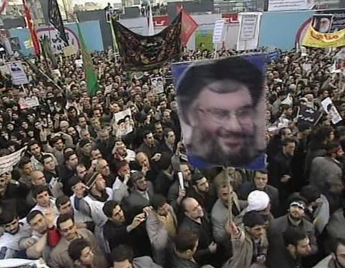 Provládní demonstrace v Íránu