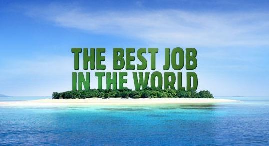 Logo kampaně za nejlepší práci na světě