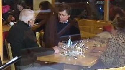 Klaus a Fischer ve Špindlerově Mlýně