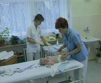 Vyšetření v nemocnici